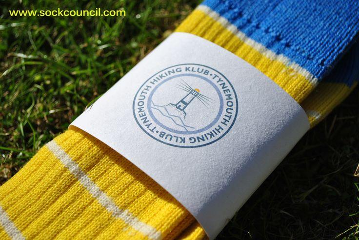 Sock Council Tynemouth Hiking Klub Socks www.sockcouncil.com