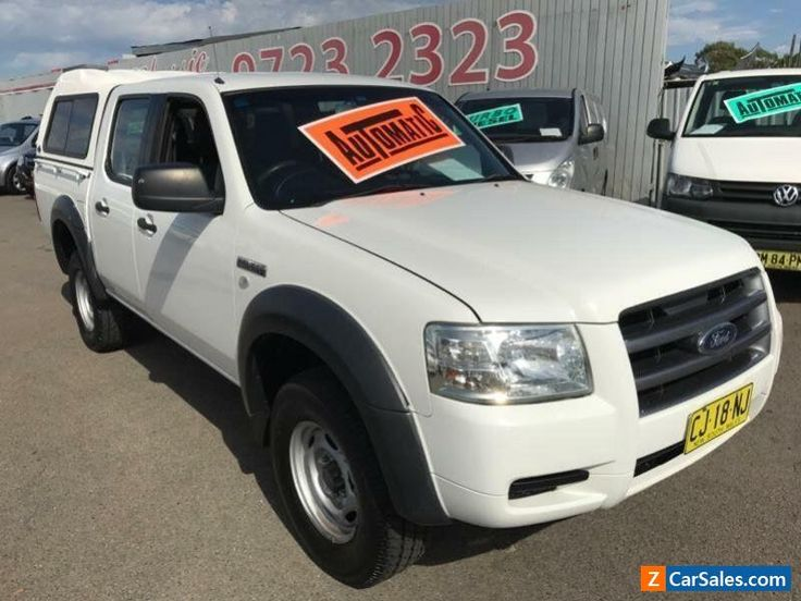 2008 Ford Ranger PJ 07 Upgrade XL (4x2) White Automatic 5sp A Dual Cab Pick-up #ford #ranger #forsale #australia