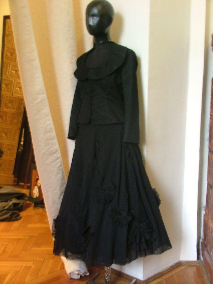 Handmade embroidered skirt