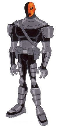 Slade is the arch-nemesis of the Teen Titans, who wants them destroyed for his own unknown reasons, and is the main antagonist in seasons 1 and 2. He also has a focus on the team's leader, Robin, making him somewhat of an arch-enemy for Robin.