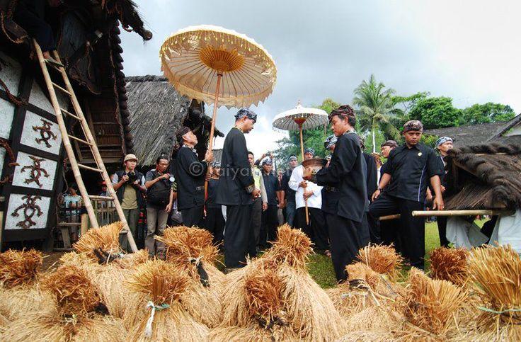 Seren Taun harvest ceremony of West Java