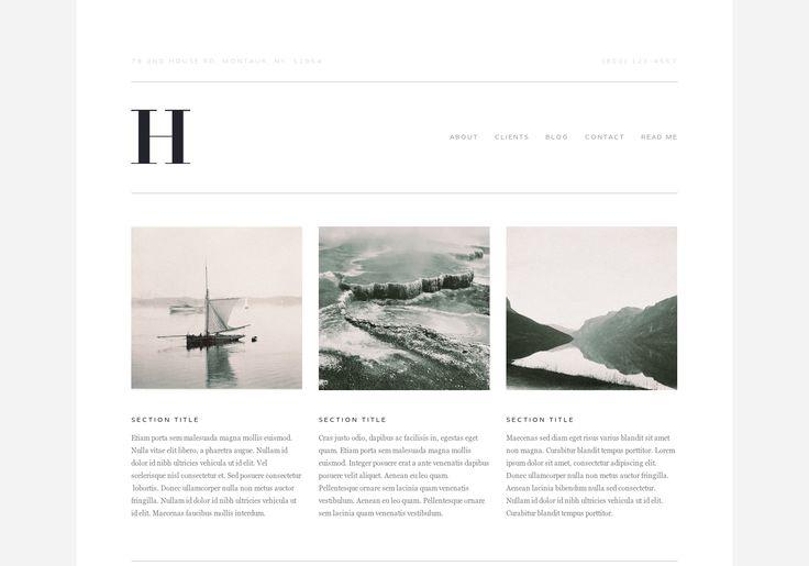 Website Templates — Squarespace | Web Design | Pinterest
