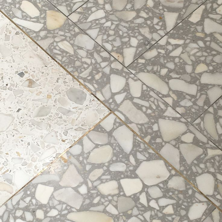 Terrazzo - Selfridges  Different aggregates can create a different look for your terrazzo. Take a look at our selection of aggregates at www.terrazzco.com #flooring #design