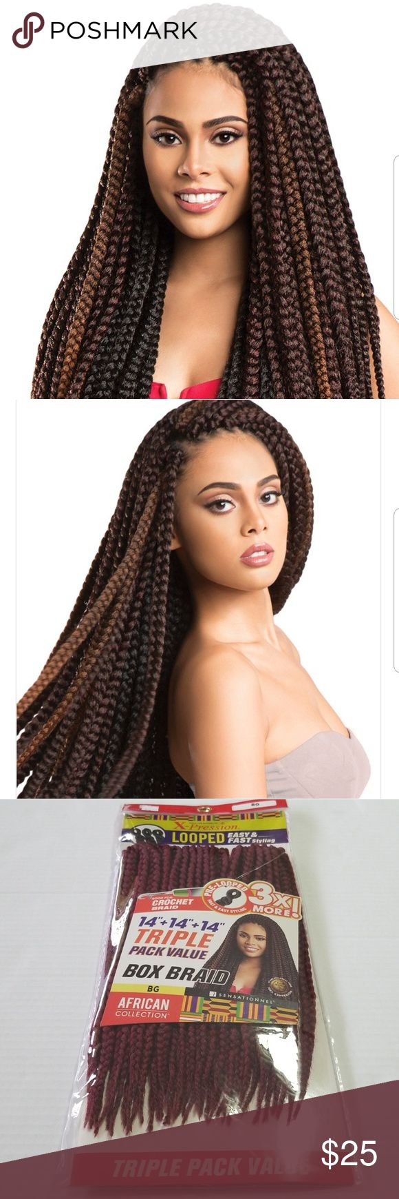 NWTAfrican Collection X-pression Triple Pack Value Two ...