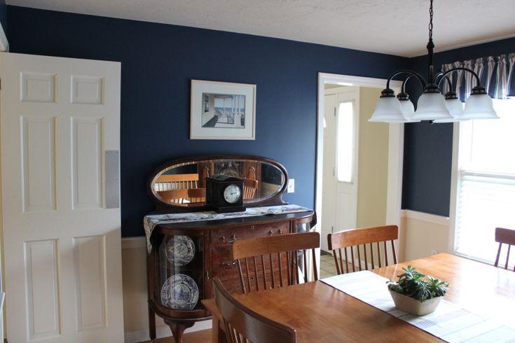 Dining room benjamin moore hudson bay 1680 home sweet for Benjamin moore virtual paint