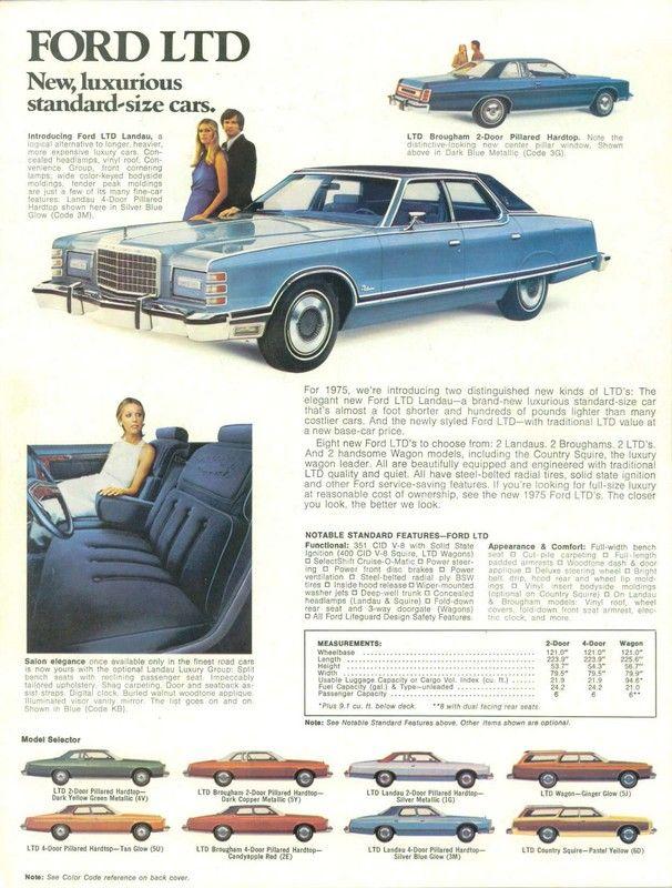 1975 Ford LTDs https://plus.google.com/+JohnPruittMotorCompanyMurrayville/posts