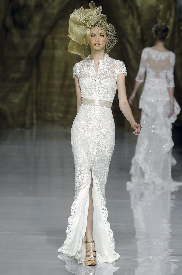 Spectacular Aisle Perfect Barcelona Bridal Week Atelier Pronovias Spring Collection Njoy u Party Events
