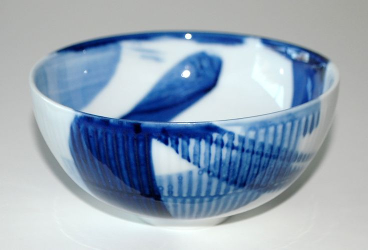 Ivan Weiss, bowl in porcelain, one of.