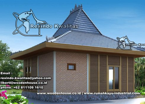 type rx joglo house wooden house sell wooden house