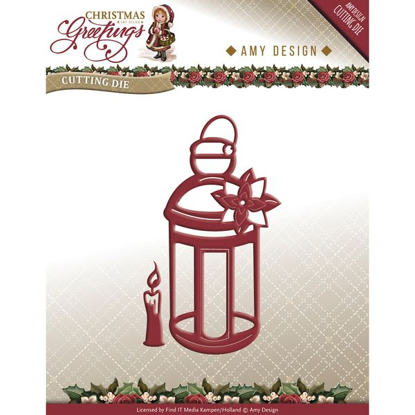 Found it at Blitsy - Find It Trading Amy Design Christmas Greetings Die - Lantern
