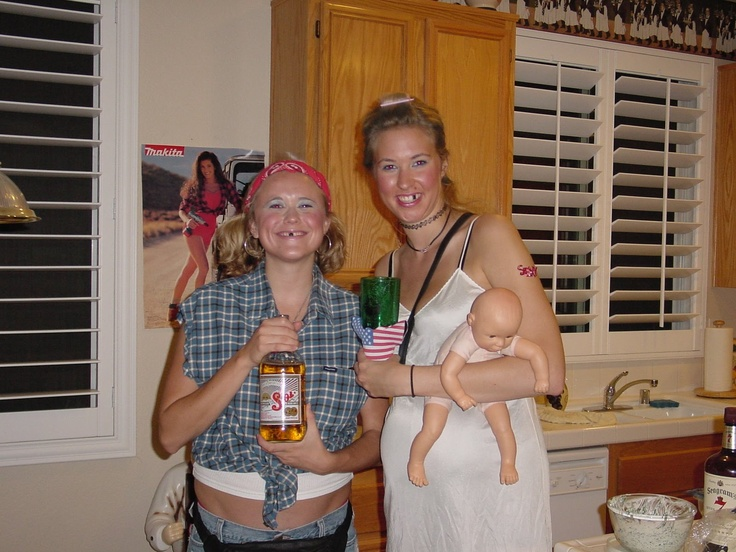 White Trash Parties: Party, Costume, Food and Gift Ideas? These people have a sense of humor.