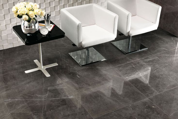 Marvel Grey Stone Lappato Porcelain Tile Commercial