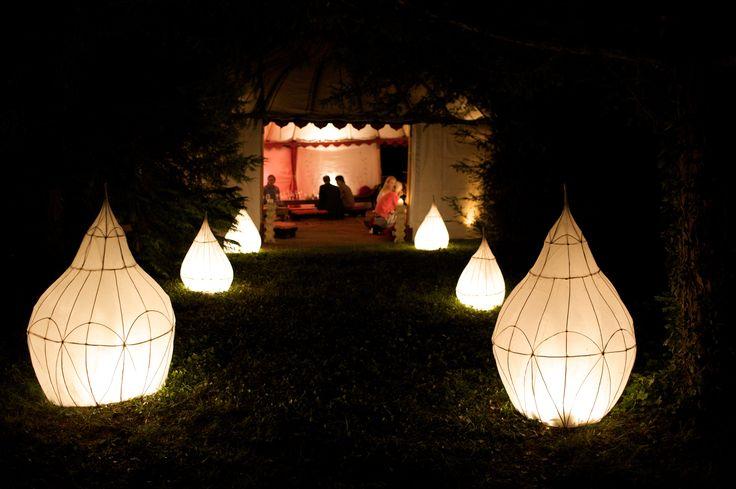 Our beautiful lanterns.