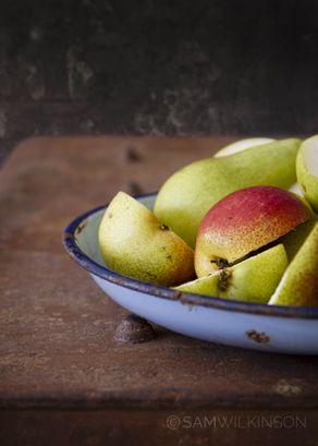 Food Photography Pears