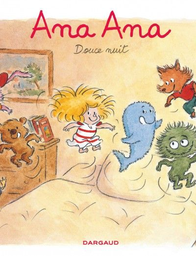 Petite soeur de l'irrésistible Pico Bogue, Ana Ana est à la tête d'une armée de doudous, et n'a rien à envier à son grand frère : c'est à la baguette qu'elle mène sa joyeuse troupe dans une farandole de bêtises...