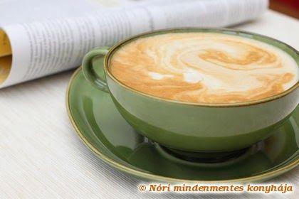 Nóri mindenmentes konyhája: Caffé latte