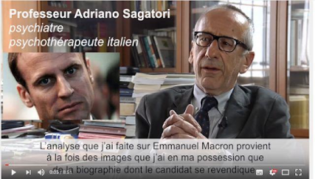 Ιταλός ψυχίατρος: «Ο Ε.Μακρόν είναι ψυχοπαθής και ως εκ τούτου εξαιρετικά επικίνδυνος»!