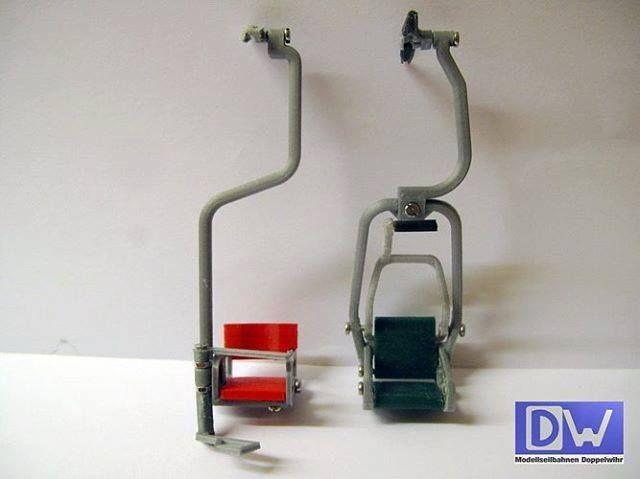 (y) Jede neue Sessel Bauart stammt von einer vorherigen #sesselbahn #1ersessel #kaiserlift #kufstein #seilbahnblog #seilbahn #doppelmayr #modellbau #modell #seggiovia #nostalgie #selfmade #3ddruck #3d #3ddrucker #miniature #seilbahntechnik #telecabine #modellskigebiet #sessel <3