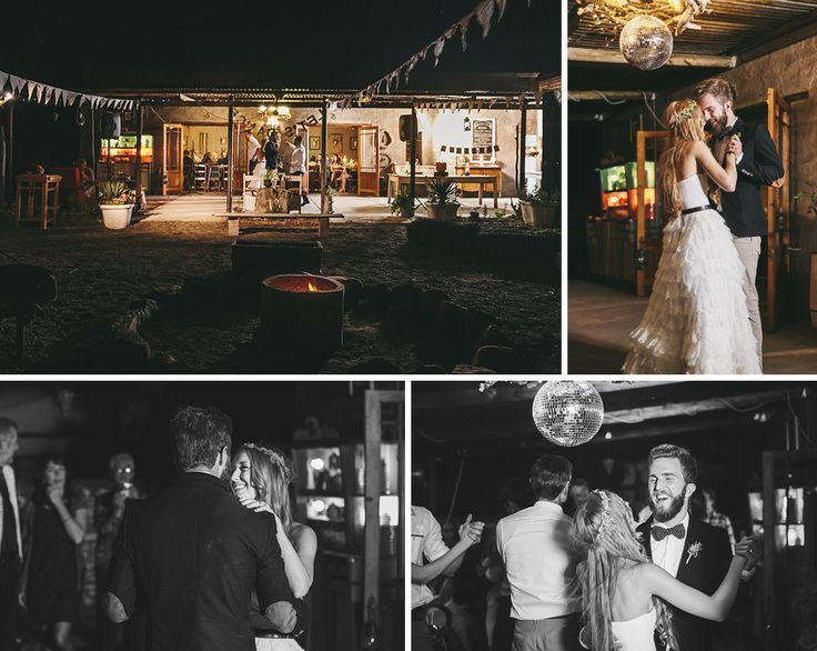 Sarah and Tom's First dance #Wedding #Nieu-Bethesda #Karoo #SouthAfrica #CharlieRay