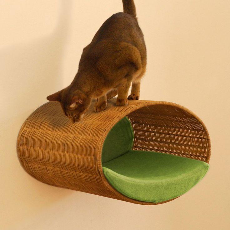 RONDO WALL Cesto albero per gatti