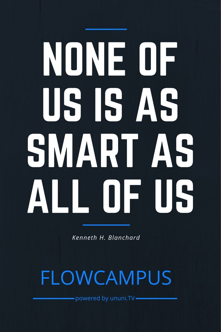 None of us is as smart as all of us - Viusal zur Einführung des FlowCampus': http://ununi.tv/de/flowcampus