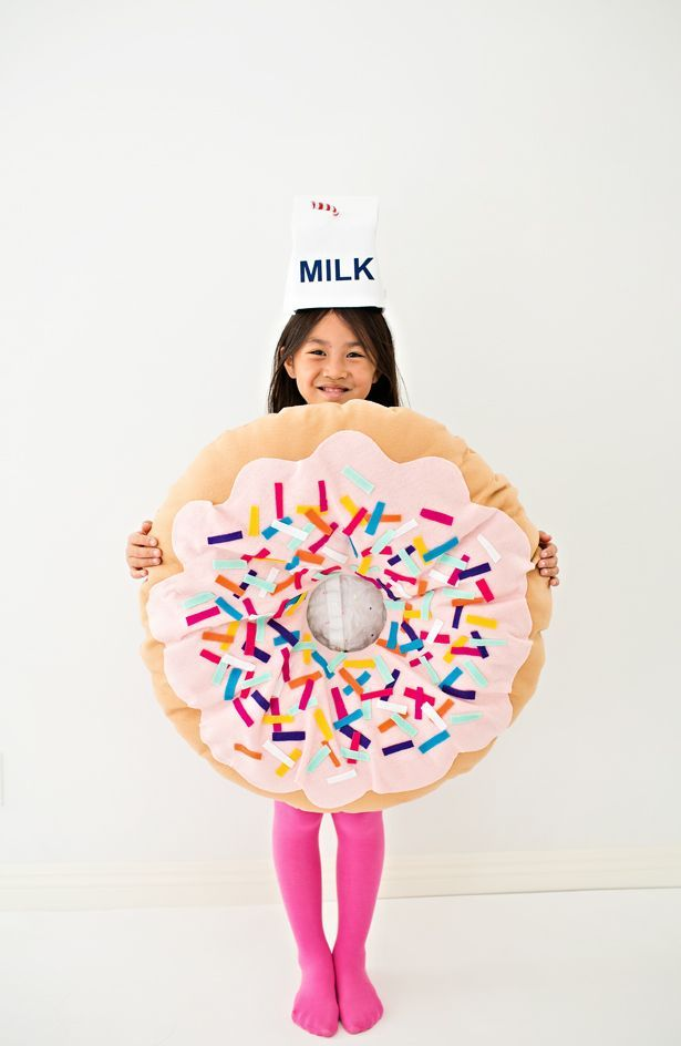 hello, Wonderful - DIY NO-SEW FELT DONUT COSTUME FOR KIDS