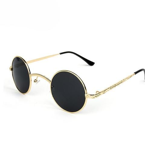 2016 New  Steampunk Retro John Lennon Sunglasses