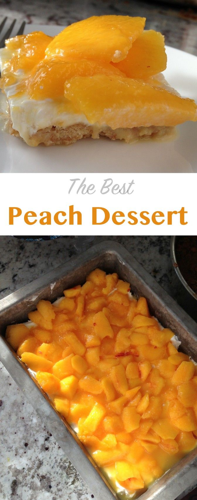 the best peach dessert! perfect for peach season -recipe on NoBiggie.net