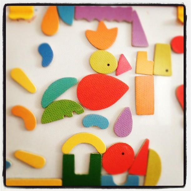 """@mauroparolo's photo: """"Giochiamo con le calamite colorate???"""""""