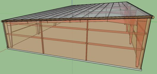 Pre Engineered Metal Buildings With Sloped Roof Google