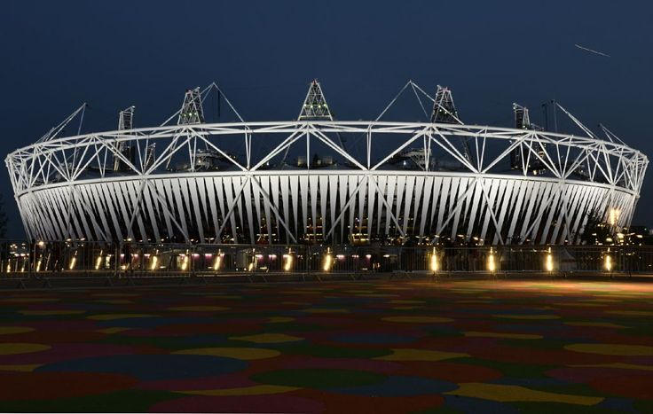Twitter / London2012: Pic: The #London2012 Olympic Stadium