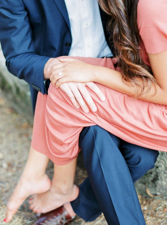 Engagement Session In A French Cau Wedding Sparrow Alexandra Vonk Photography