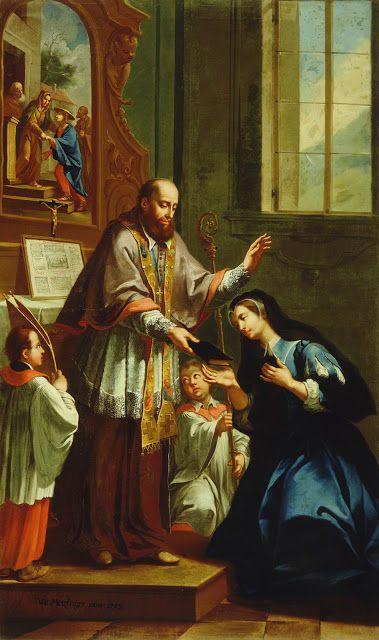 12 août : Sainte Jeanne-Françoise Frémiot de Chantal  3d20b6e624ea44475c5585846cabb011