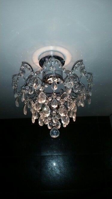 Lampa i badrummet