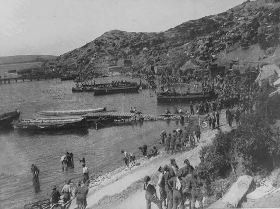 On The Beaches At The Gallipoli Peninsula