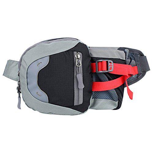 SZTARA Fashion Multifunctional Waist Bag Portable Unisex Sports Cross-package Pockets Bottle Cellphone Money Keys Cards Holder Running Jogging Hiking Cycling Waistpacks