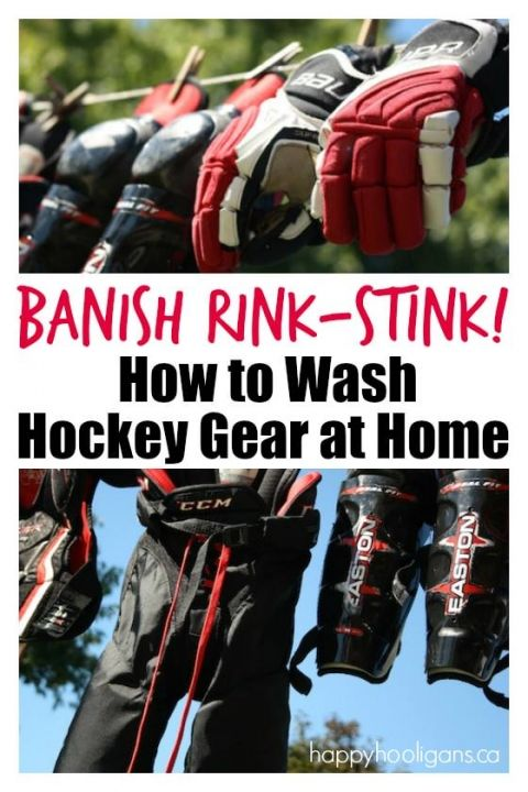 How to Wash Hockey Gear at Home - Happy Hooligans