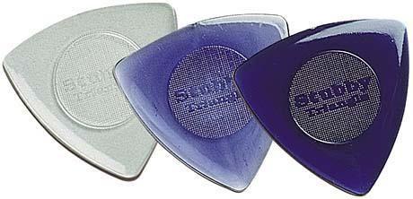 dunlop stubby pick - reuleaux triangle. a shape of constant width.