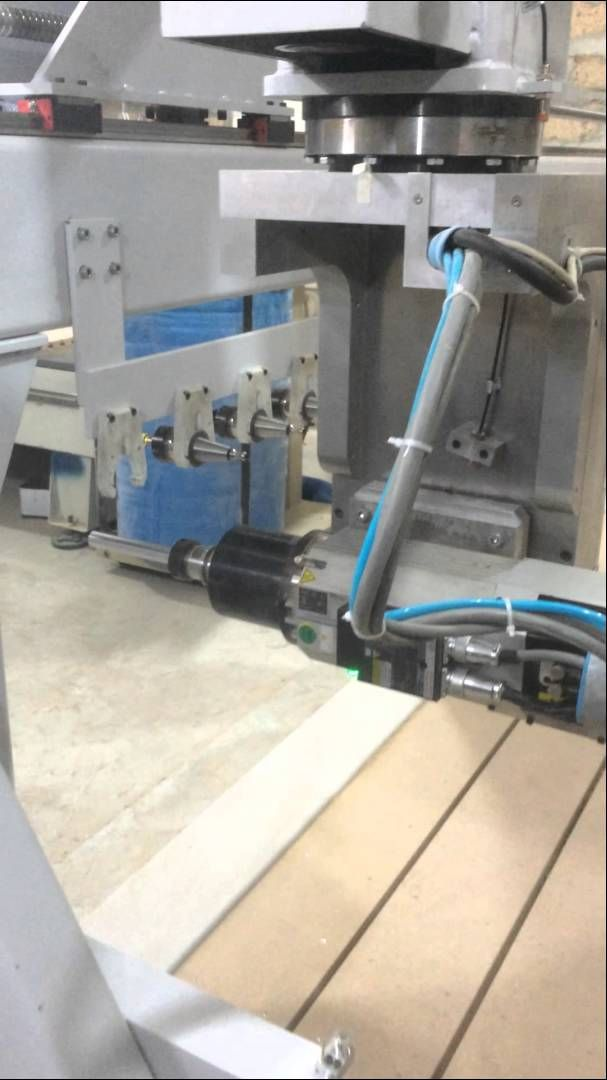 5 Axis cnc Toolchange + Auto Tool Lenght