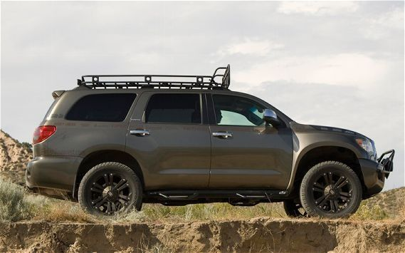 Toyota Sequoia Black Off Road Rims And Tires Google