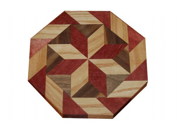 ePier - Colored Octagon Wood Quilt Block Pattern Cutting Board ... : quilting cutting boards - Adamdwight.com