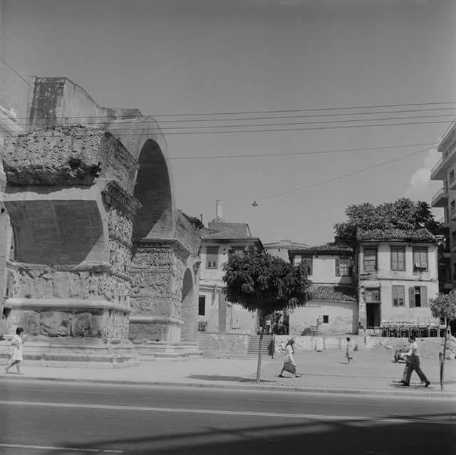 Θεσσαλονίκη Καμάρα 1950-70 φωτ.Walter Schroder