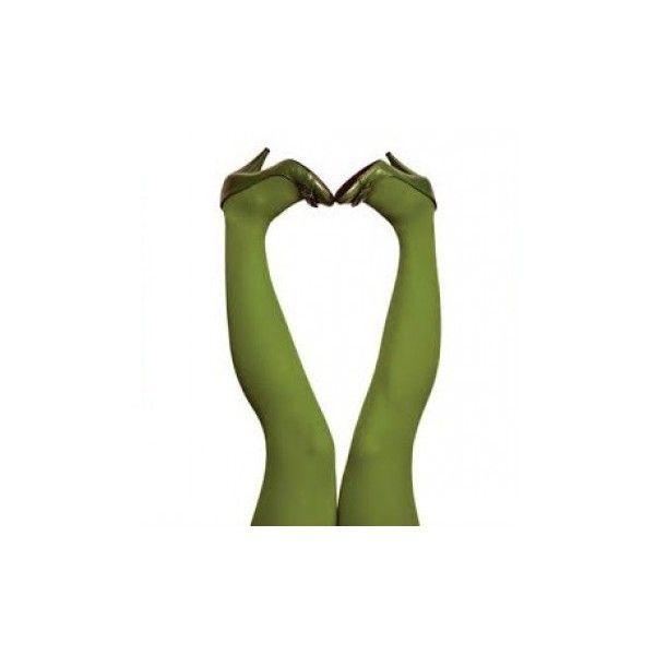 Du Milde Grønne strømpebukser 60 denier Tights Parrotgreen ❤ liked on Polyvore featuring intimates, hosiery and tights