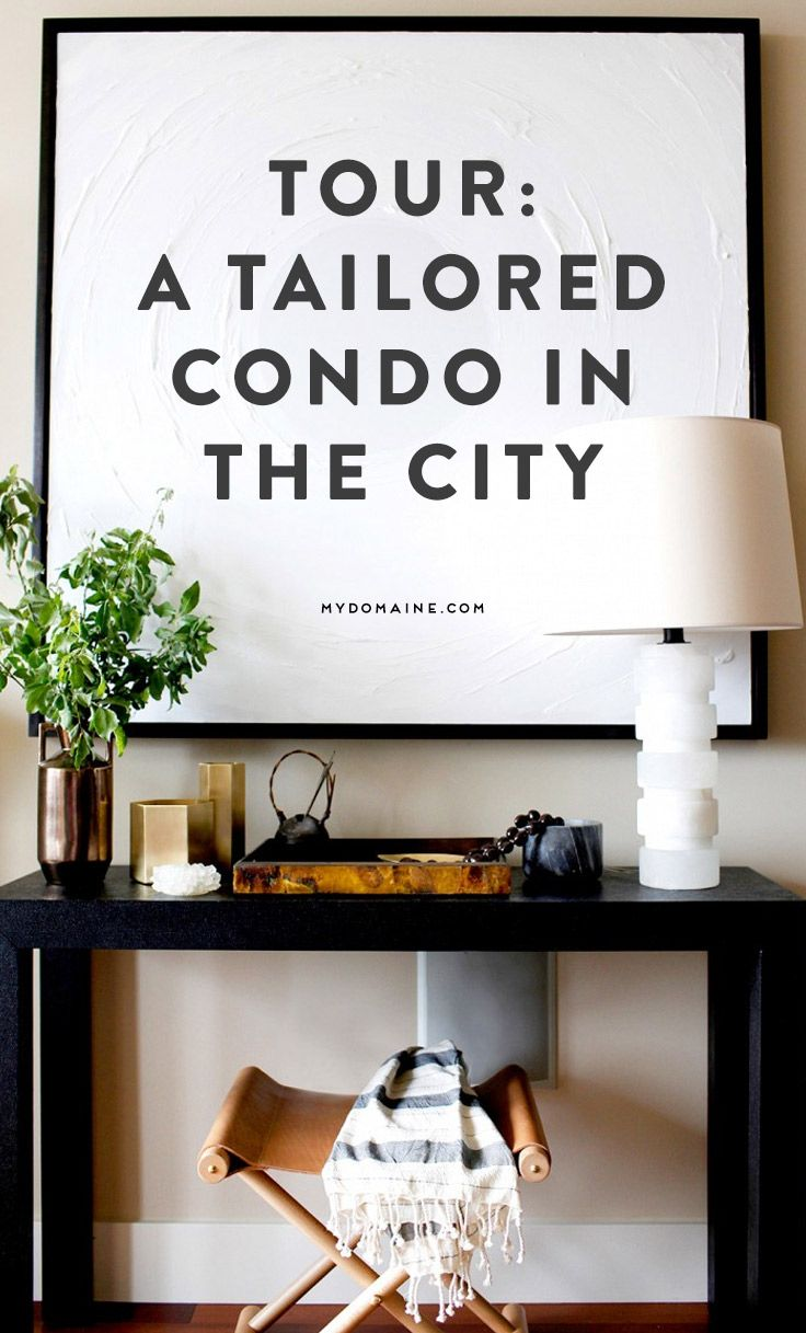 You're going to love this tailored city condo