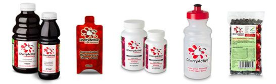 CherryActive is the largest supplier of Montmorency cherry concentrate and capsules in the UK, shown to support recovery from exercise