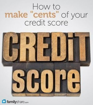 How to make 'cents' of your credit score What is credit