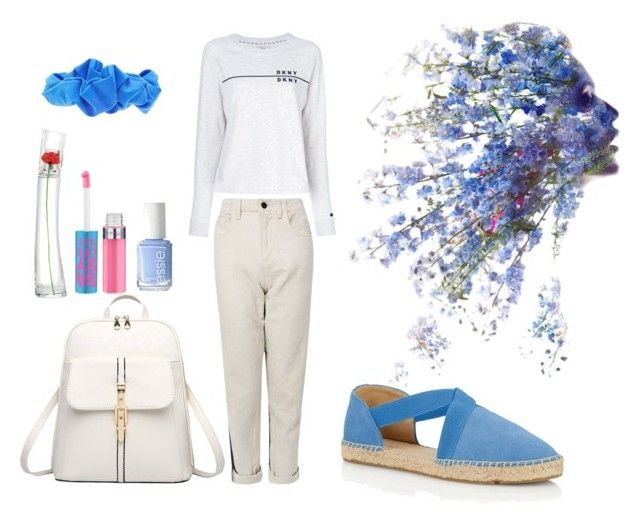"""Wolf"" by deborahossi on Polyvore Sweatshirt: DKNY - €82 Jeans: GUESS - €130 Espadrille Flats: Talbots - €70  School Bag - H.Tavel (Amazon.com) - €31 Rushed Scrunchie: Forever 21 - €1,67 Eau de Parfum: Flower by Kenzo - €77 Lip gloss: Maybelline - €3,95 Nail Polish: Essie - €7,92  Soundtrack: https://www.youtube.com/watch?v=SzNOFH7NQYo  #polyvore #dkny #guess #minimalist #maybelline #flowerbykenzo #kenzo #blue #jeans #amazon"
