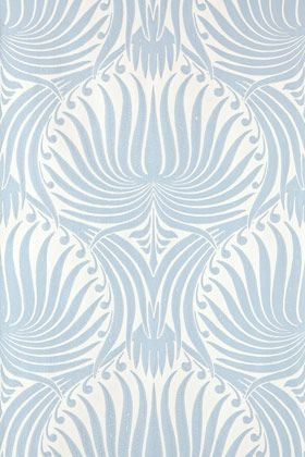 Lotus wallpaper from Farrow & Ball