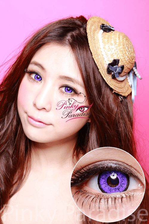 EOS Dolly Eye Violet Circle Lenses (Colored Contacts) $25.90
