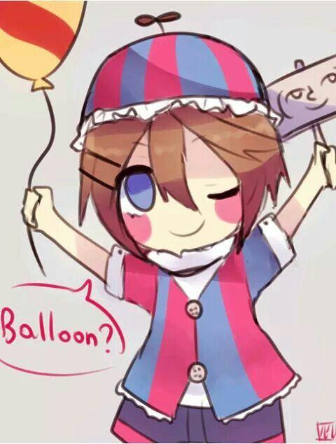 Fnaf anime balloon boy